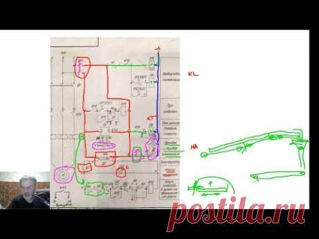 Схема управления конвейером 1