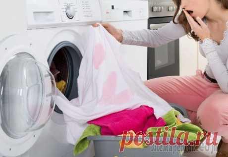 4 способа спасения одежды, если она полиняла во время стирки