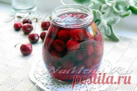 Маринованная черешня на зиму: рецепт с фото