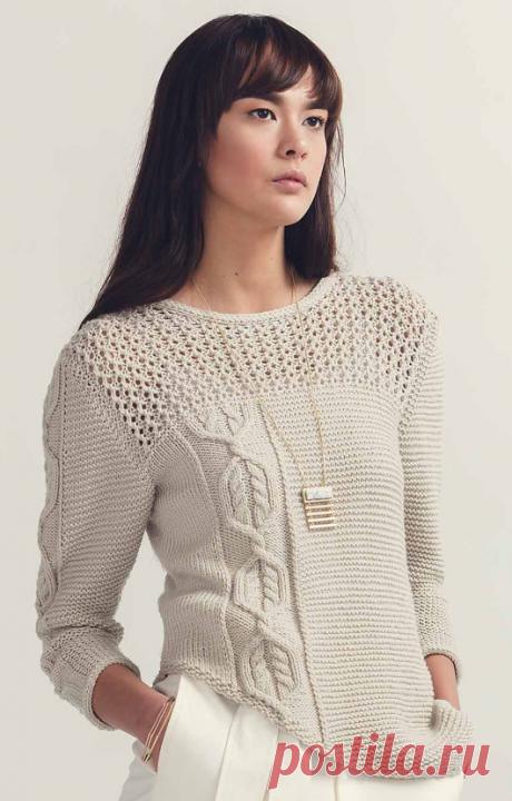 Вязаный пуловер Iclyn   ДОМОСЕДКА