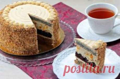 Торт «Королевский»   Тут еда и лучшие рецепты