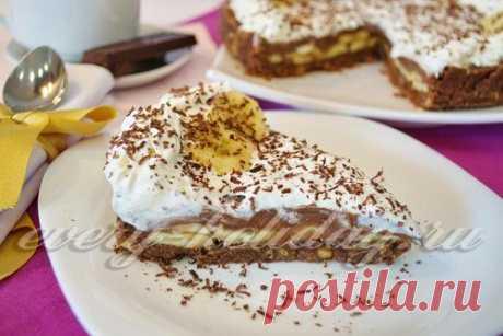 👌 Шоколадный торт из печенья с бананом на скорую руку, ссылки  Банан — 2 шт