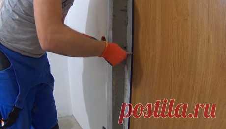 Штукатурка откосов входной двери: функции, плюсы и минусы, пошаговая работа