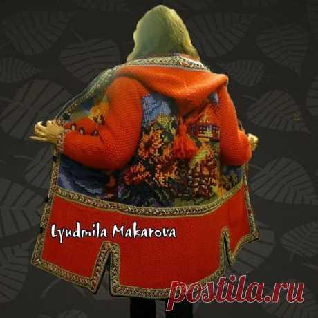 "Пальто ручной работы с вышивкой ""Домики"" #вязание #назаказ #вязаниеспицами #вязаниеназаказ #вяжутнетолькобабушки #вяжу #вяжуспицами #пальто #пальтоспицами #топ #пальторучнойработы #knitting #knitted #crochet #crocheted #handmade #handmadejewelry #handm #handcrafted #мода #осень #зима #весна #лето #ярмаркамастеров #эксклюзив #ручнаяработа #ручнаяработаназаказ #стиль #стильнаяодежда"