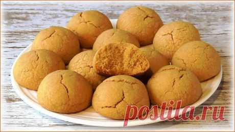 Печенье из жареной муки (со вкусом халвы и орехов) – пошаговый рецепт с фотографиями