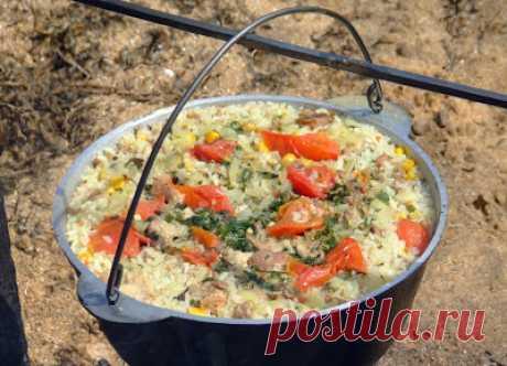 Самые вкусные рецепты блюд походной кухни