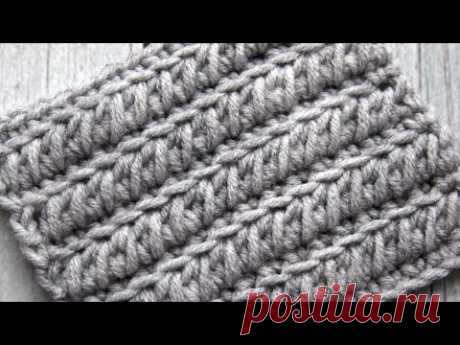 Я готова применить его для вязания любых изделий | Плотный УЗОР КРЮЧКОМ, который всем понравится!