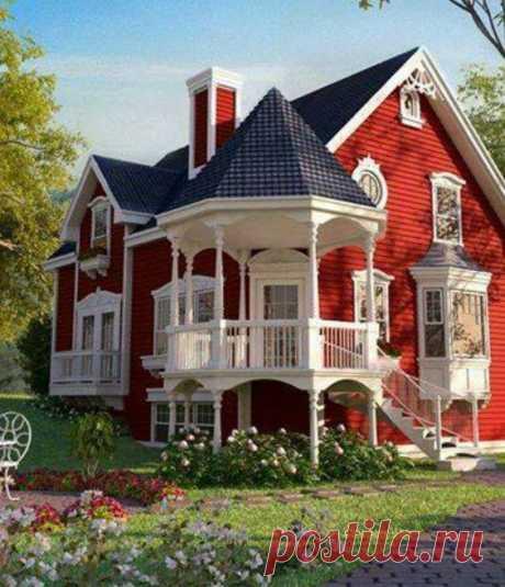Выбираем цвет фасада — Мой дом