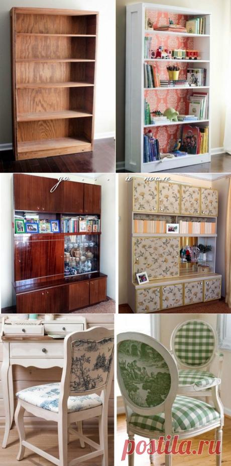 Декупаж старой мебели: фото до и после — Сделай сам, идеи для творчества - DIY Ideas