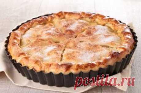 Американский яблочный пирог рецепт | Любимые блюда