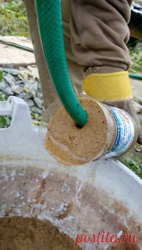 Как мы промыли скважину за 25 рублей | Строили-построили | Яндекс Дзен