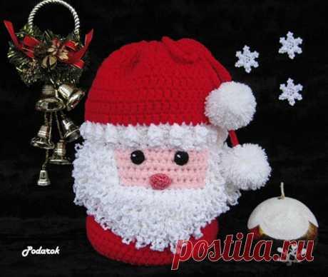 Милые сердцу мелочи от Podarok: Мешок для подарков Дедушка Мороз / Santa Gift Tote