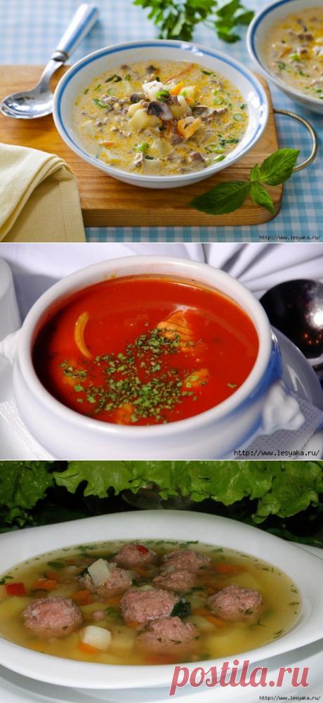 Готовим суп в мультиварке - 6 рецептов » Женский Мир