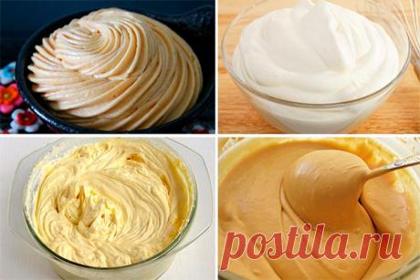 15 лучших, нежных, воздушных и вкуснейших заварных кремов Отличная подборка рецептов заварного крема для разнообразной выпечки. Каждая хозяйка может приготовить эти вкусные кремы самостоятельно.