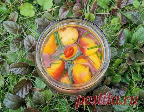Кимчи из персиков на воде 복숭아물김치: food_it — ЖЖ