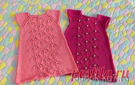 Стильное платье для девочек | Клубок