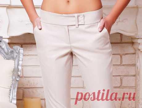 Как сшить брюки женские своими руками пошагово: инструкция, выкройка
