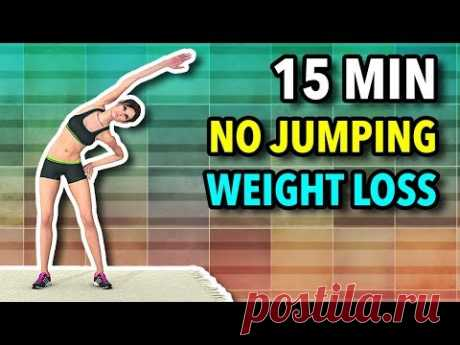 15 Min No Jumping Workout To Lose Weight At Home