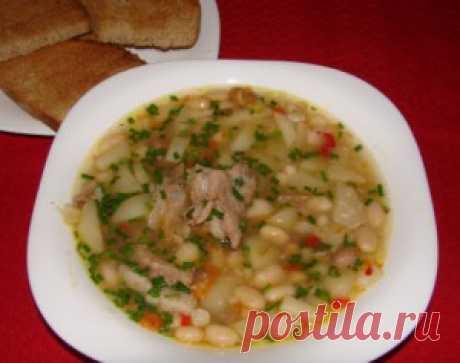Суп с фасолью | Рецепты Натали