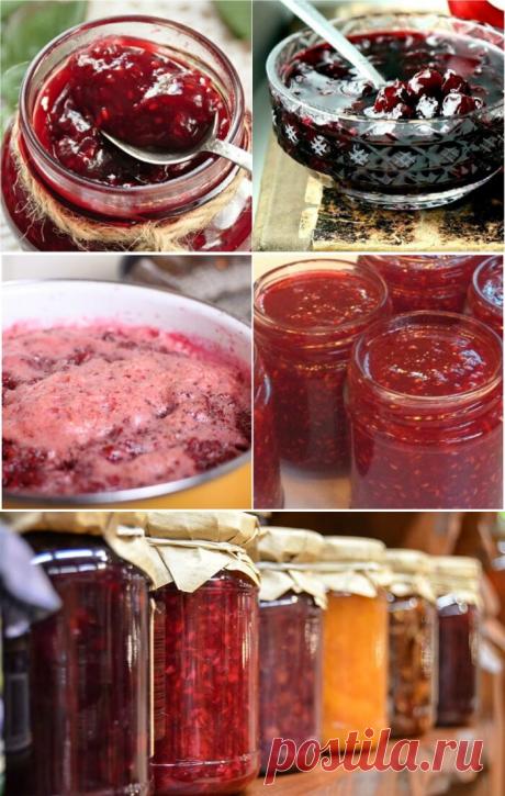 Варенье за 5 минут из любых ягод — все витамины на месте — Бабушкины секреты