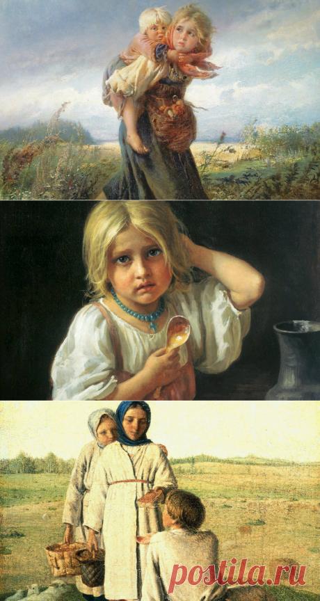 Что умела 10-летняя девочка 100 лет назад на Руси? - Статьи - Дети старше 7 лет - Дети Mail.Ru