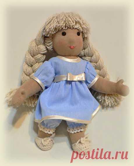 Подробный МК по вальдорфской кукле