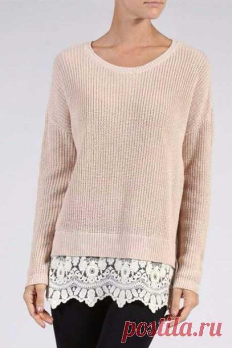 ¡Look! ¡Los jerseys tiernos para el otoño! — es a la moda \/ Nemodno