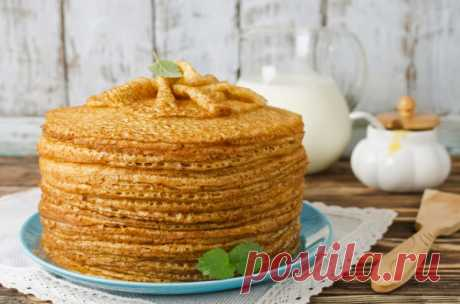 Рецепт заварных дрожжевых блинов на кефире. Подавай их вместе со сладкими начинками. - Рецепти