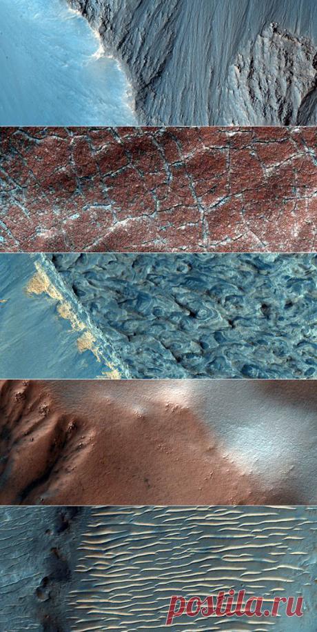Овраги, дюны и долины Красной планеты — Наука и жизнь