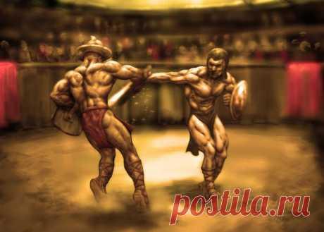 Гладиаторы Древнего Рима: безвольные рабы или отважные авантюристы