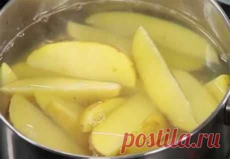 Картошка по-деревенски: сочная внутри и хрустящая снаружи . Милая Я