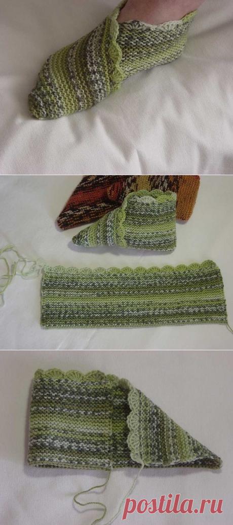 Tapko-noski on two spokes \/ Knitting \/ Second Street