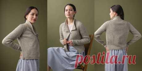 Жакет с застежкой Akerlof - Вяжи.ру