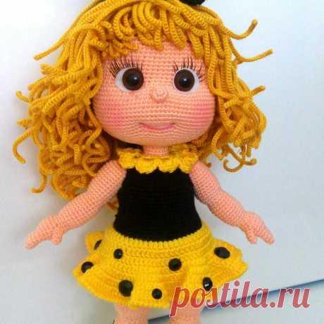 Малышка Жужу. Это бесплатный мастер-класс по созданию чудесной куколки амигуруми! Кукла вяжется крючком. #куклаамигуруми #вязанаякукла #амигуруми #бесплатноеописание #бесплатнаясхема #вязанаяжизнь #вязаниекрючок #амигурумидляначинающих #амигурумиописание #малышкажужу