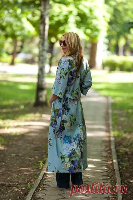Кимоно- бельевой стиль для скромниц! / Elena_Zorya / 01.06.2017 / Фотофорум на BurdaStyle.ru