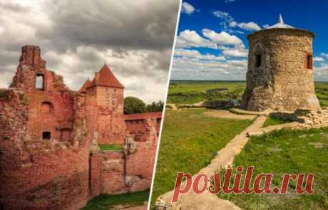 Древние замки на территории России, о которых не рассказывают путеводители . Тут забавно !!!