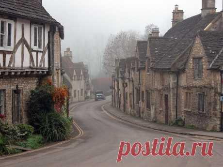 Касл Комб - самая красивая деревня в Англии! — Путешествия