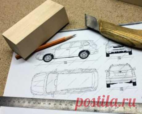 Subaru Forester в масштабе своими руками из дерева Из дерева можно создавать самые разные и необычные вещи, например, вот такие маленькие произведения искусства. Представьте себе модель внедорожника Subaru Forester с точным соблюдением пропорций, но из дерева! А ведь получилось очень классно...