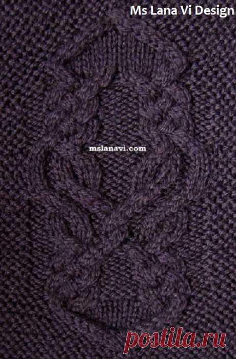 Кардиган платочной вязкой | Вяжем с Лана Ви