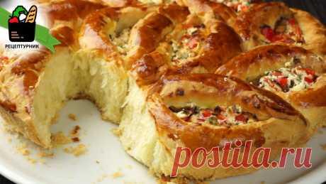 """Как я готовлю свой хлеб """"по-итальянски"""": пышное тесто, начинку можно менять, всегда разный вкус   Рецептурник   Яндекс Дзен"""