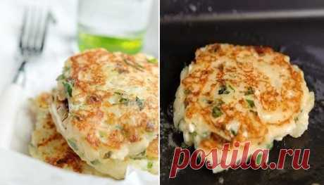 Картофельные оладьи с сыром - такую вкуснотищу ела бы каждый день! Готовлю каждые выходные!