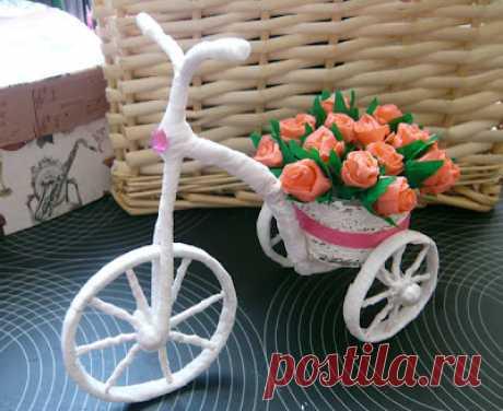 Аксессуары для кукол. Велосипед