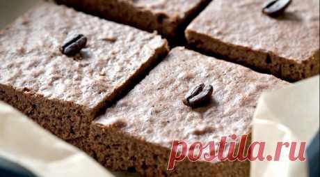 Брауни-эспрессо, пошаговый рецепт с фото