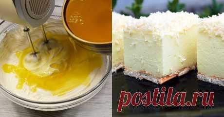Торт «Снежный пух» — CookingPad