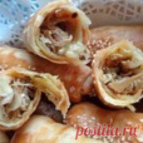 Пирожки с капустой из индийского теста Кулинарный рецепт