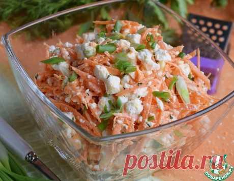 Салат с морковью и творогом – кулинарный рецепт
