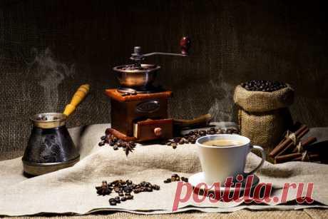 Кофе -такой разный ...