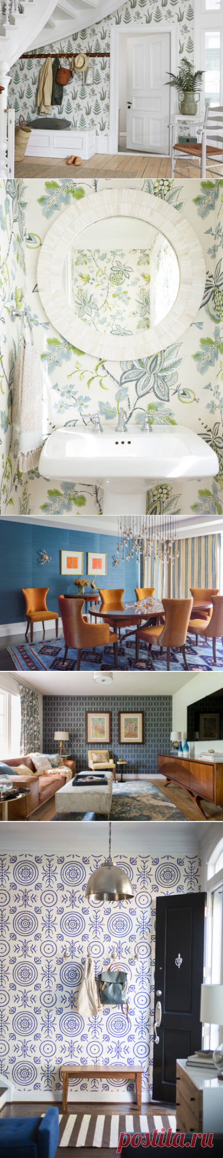 Great Home Project: How to Add Wallpaper to a Room