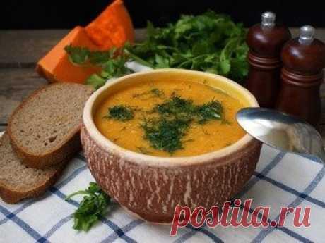 Суп-пюре из нута с тыквой - простой и вкусный рецепт с пошаговыми фото