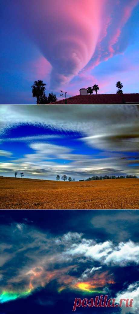 Самые красивые облака в мире...-
